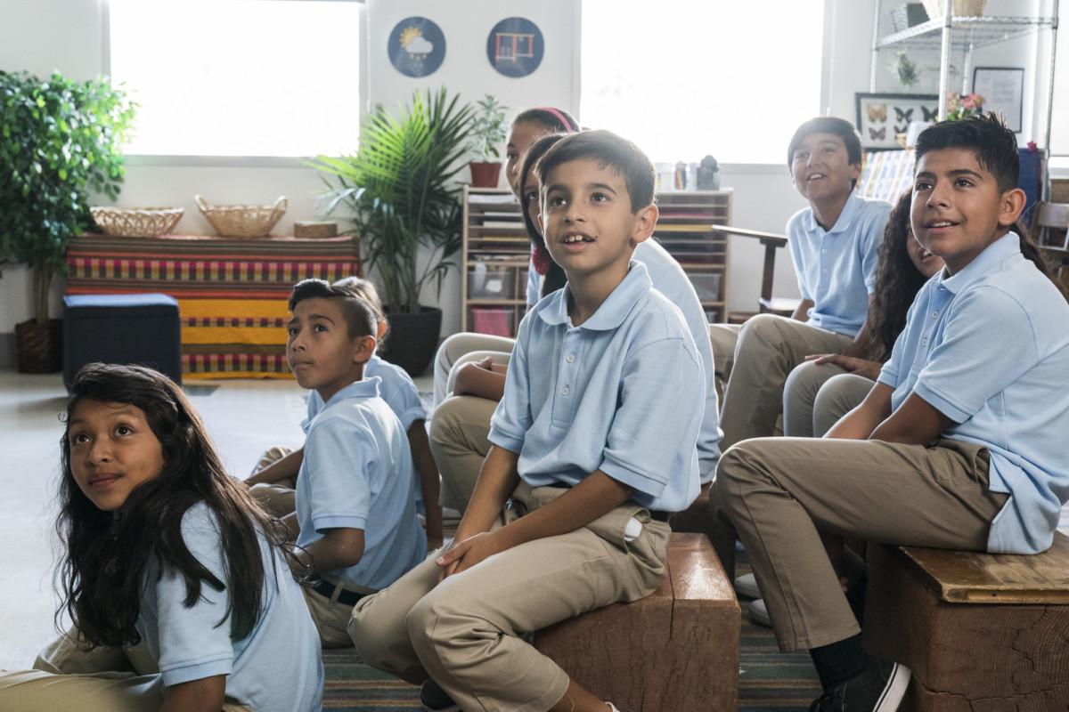 students engaged
